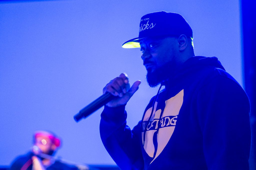 Ghostface Killah at Cube Tech Fair Cryptocurrency