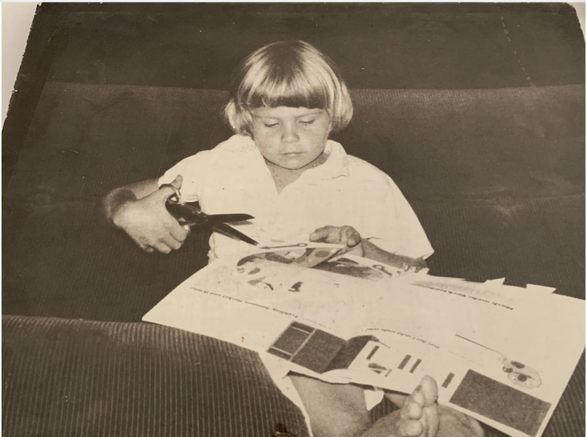 Caroline Harth Childhood